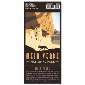 Mesa Verde Trailblazer Sticker