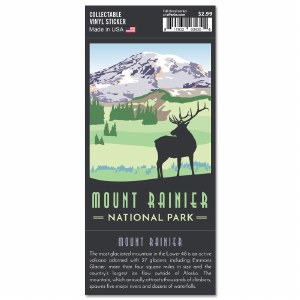 Mount Rainier Trailblazer Sticker