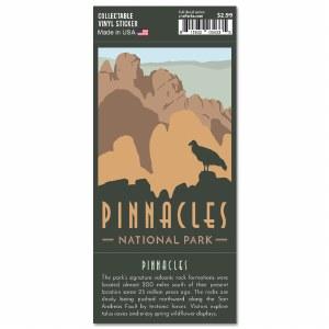 Pinnacles Trailblazer Sticker