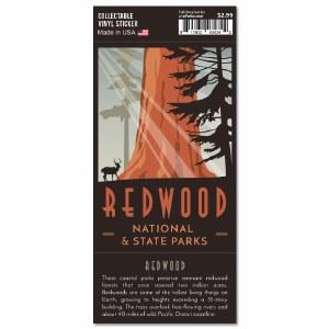 Redwood Trailblazer Sticker