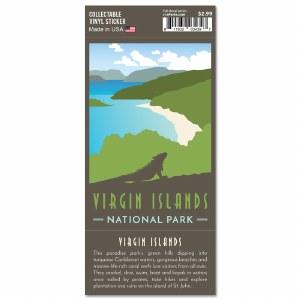 Virgin Islands Trailblazer Sticker