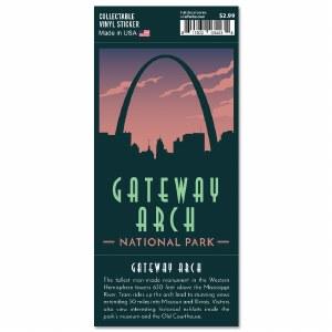 Gateway Arch Trailblazer Sticker