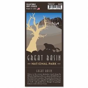 Great Basin Trailblazer Sticker