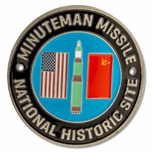 Minuteman Missile NHS Hiking Medallion