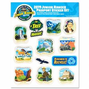 2019 Junior Ranger Sticker Set