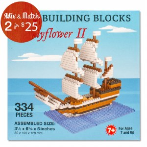 Mayflower II Mini Blocks