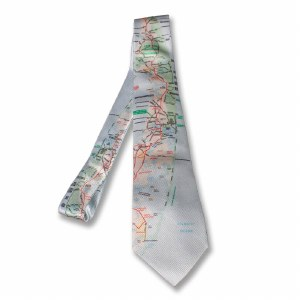 Cape Cod Map Tie