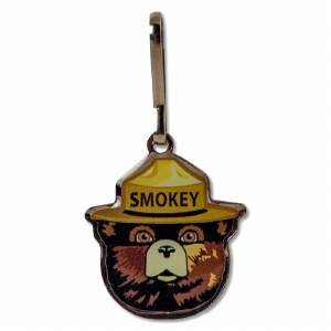 Smokey Bear Zipper Pull