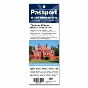 Thomas Edison Passport Sticker