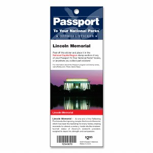 Lincoln Memorial Passport Sticker