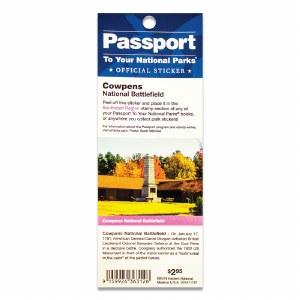Cowpens Passport Sticker