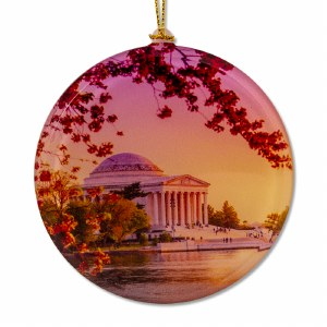 Jefferson Memorial Sun Catcher