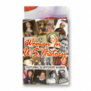 Women In US History Playing Cards