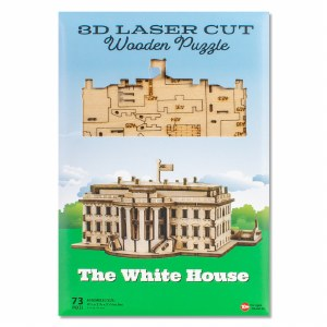 White House Wooden Puzzle
