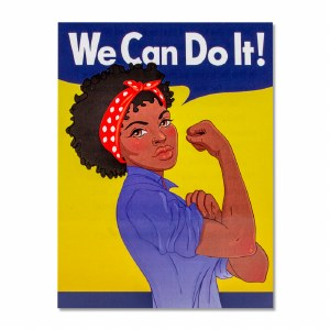 Rosie the Riveter Women of Color Decal