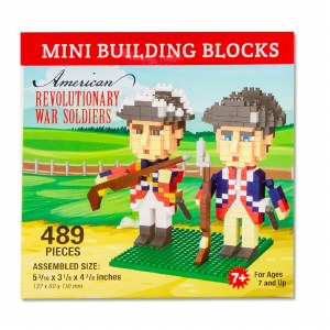 American Revolutionary War Soldiers Mini Blocks