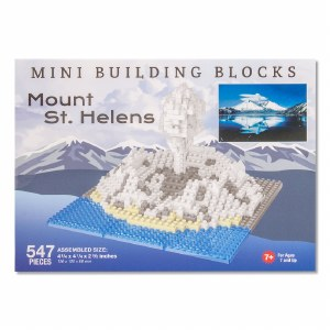 Mount St. Helens Mini Blocks