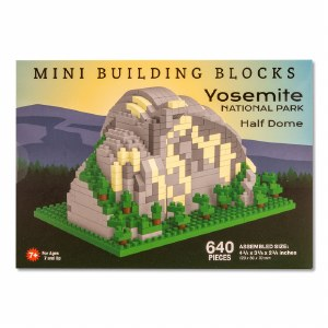 Yosemite Half Dome Mini Blocks