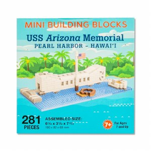 USS Arizona Memorial Mini Blocks