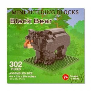 Black Bear Mini Blocks