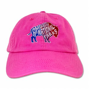 Funky Bison Cap Pink
