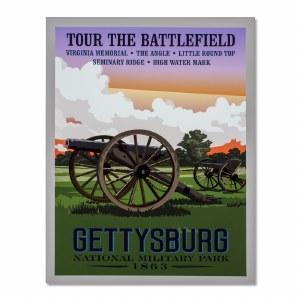 Gettysburg National Military Park Poster