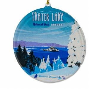 Crater Lake Sun Catcher