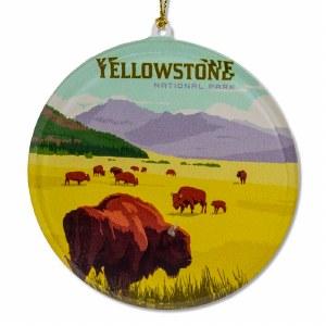 Yellowstone National Park Sun Catcher