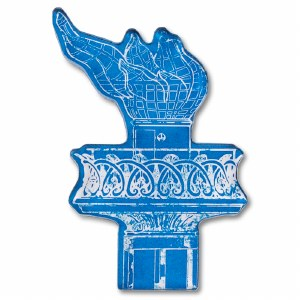 Statue of Liberty Blueprint Magnet