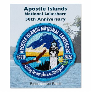 Apostle Islands 50th Anniversary Patch
