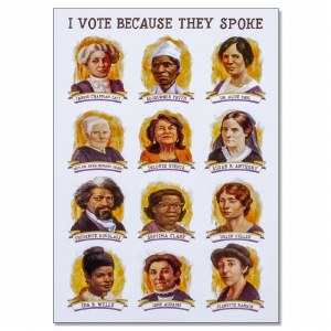 Suffragists Portraits Poster