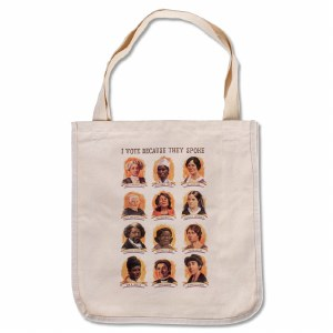 Suffragists Portraits Tote Bag
