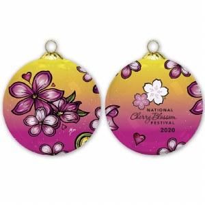 2020 Cherry Blossom Ornament