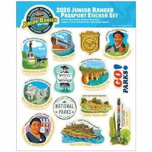 2020 Junior Ranger Sticker Set