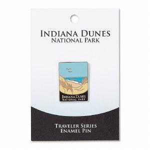 Indiana Dunes Traveler Pin