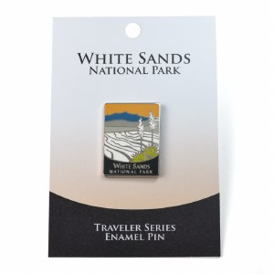 White Sands NP Traveler Pin