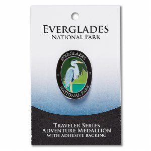 Everglades Travelers Hiking Medallion