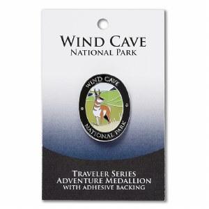Wind Cave Travelers Hiking Medallion