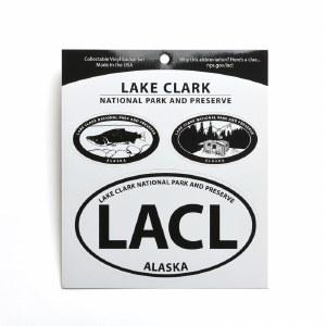 Lake Clark Triple Decal