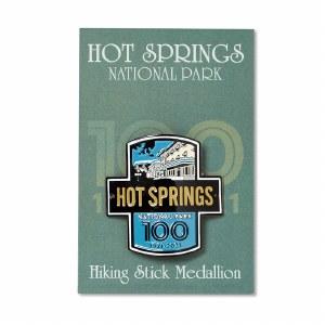 Hot Springs Centennial Fordyce Hiking Medallion