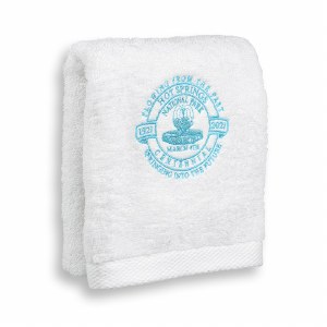 Hot Springs Centennial Wash Cloth