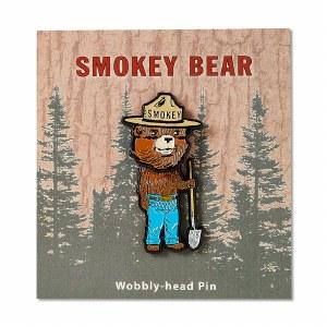 Smokey Bear Bobble Head Pin