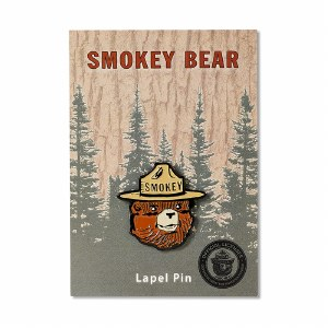Smokey Bear Head Pin