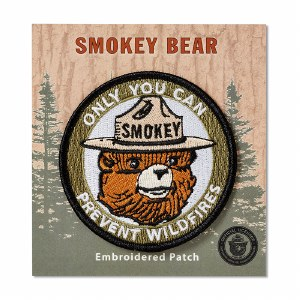 Smokey Bear Head Patch