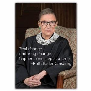 Ruth Bader Ginsburg Change Magnet