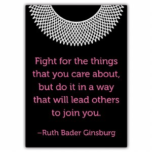Ruth Bader Ginsburg Fight Magnet