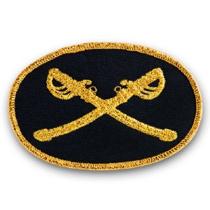 Union Cavalry Officer Patch