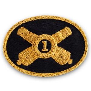Union Artillery Officer Patch