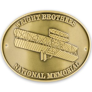 Wright Brothers Hiking Medallion