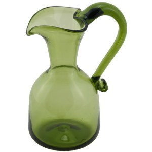 Green Heart Pitcher